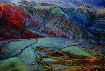 昌吉周末快乐游 | 走进努尔加大峡谷 比《魔戒》场景还奇幻