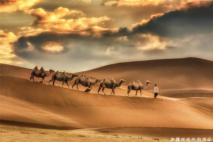 库木塔格沙漠 (2)