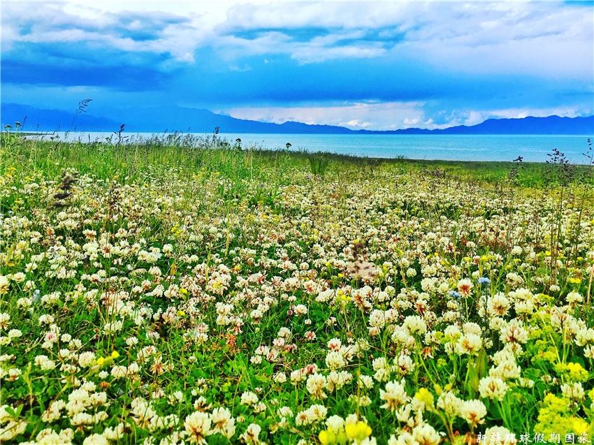 夏季赛里木湖
