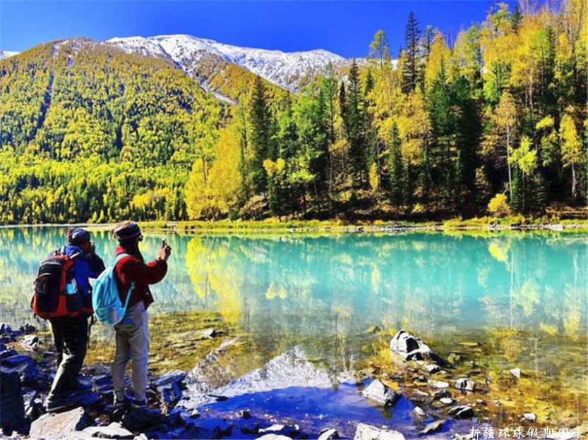 秋季喀纳斯湖